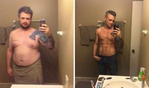 Înainte și după! Fotografii motivaționale cu persoane care au slăbit fenomenal