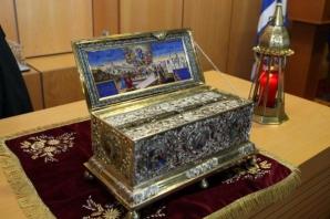 Brâul Maicii Domnului ajunge în România, pe 13-15 mai