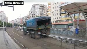 Refugiu de tramvai, distrus chiar de către angajaţii RATB