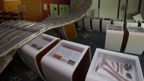 Semn rău! Plafonul muzeului Schengen s-a prăbușit din senin