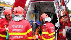 Accident înfiorător în Sibiu: 4 morţi, după un impact violent între un TIR şi trei maşini