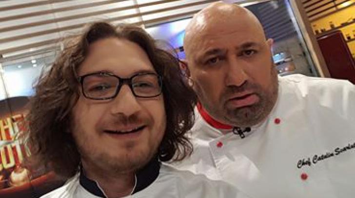 Adevarul despre chef Scarlatescu, spus chiar de colegul lui, Florin Dumitrescu
