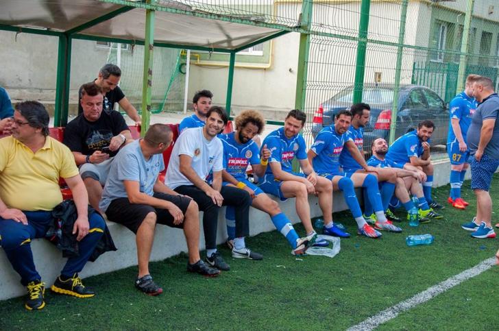 Naționala Artiștilor Fotbaliști, umilită în ultimul meci amical înainte de plecarea la Moscova