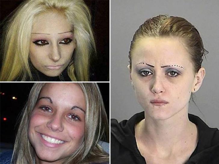 Vizita la salon le-a transformat în monștri. Cum arată sprâncenele acestor femei. Sunt horror!