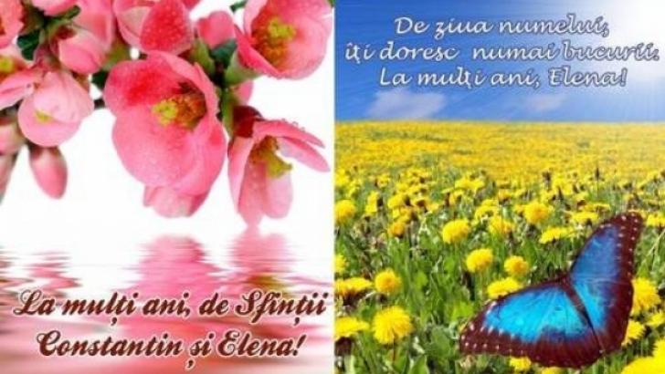 <p>MESAJE Sf. CONSTANTIN ŞI ELENA. Cele mai frumoase pentru cei care îşi serbează numele pe 21 mai</p>