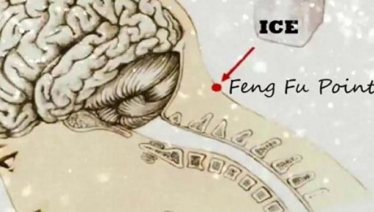 Ce lucru uimitor ţi se întâmplă dacă pui gheaţă de două ori pe zi în punctul acesta!