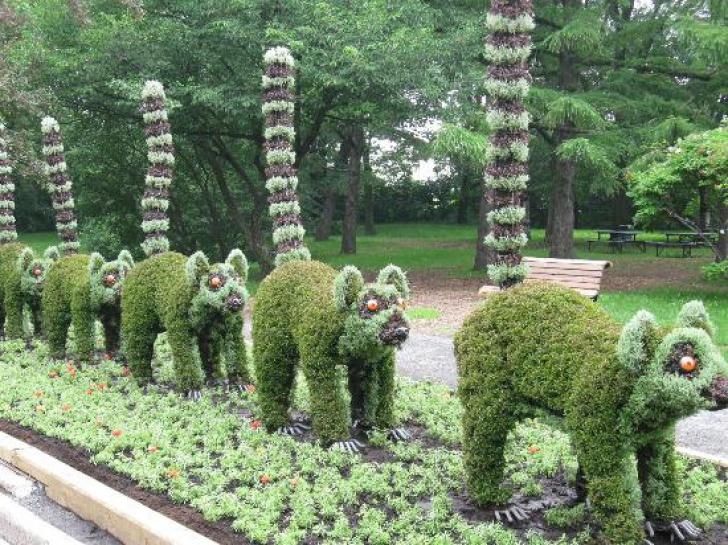 Cea mai spectaculoasă grădină botanică din lume! Imaginile sunt fabuloase