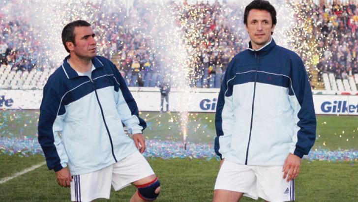 Gică Hagi şi Gică Popescu vor forma din nou un cuplu în fotbal. Ce club vor prelua