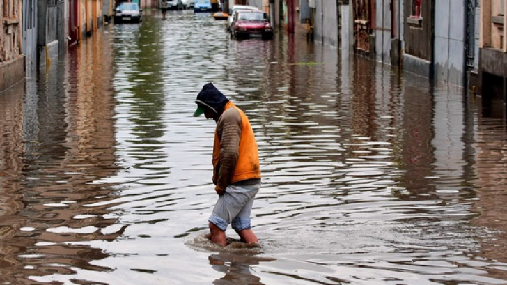 Pericol iminent de inundaţii lângă Hunedoara