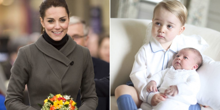 Imagine rară cu Prințul George. Mama lui, Kate Middleton, i-a făcut asta în văzul tuturor