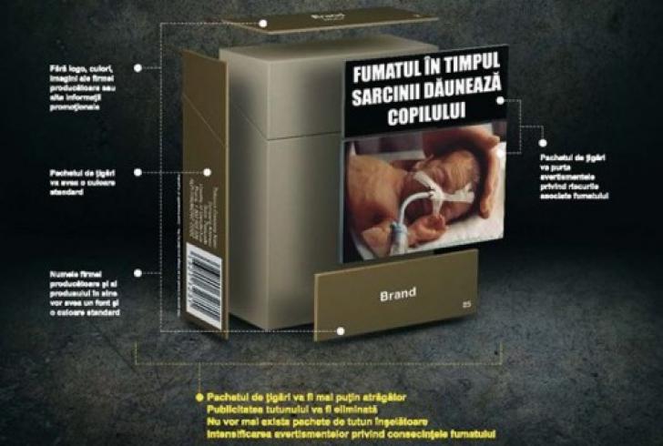 Noua lovitura pentru fumatori. Cum va arata pachetul de tigari