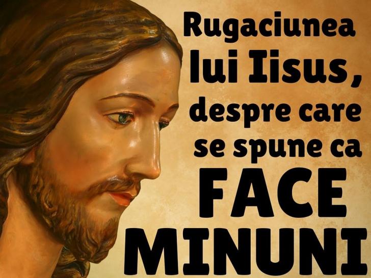 rugăciunea lui isus pentru pierderea în greutate)