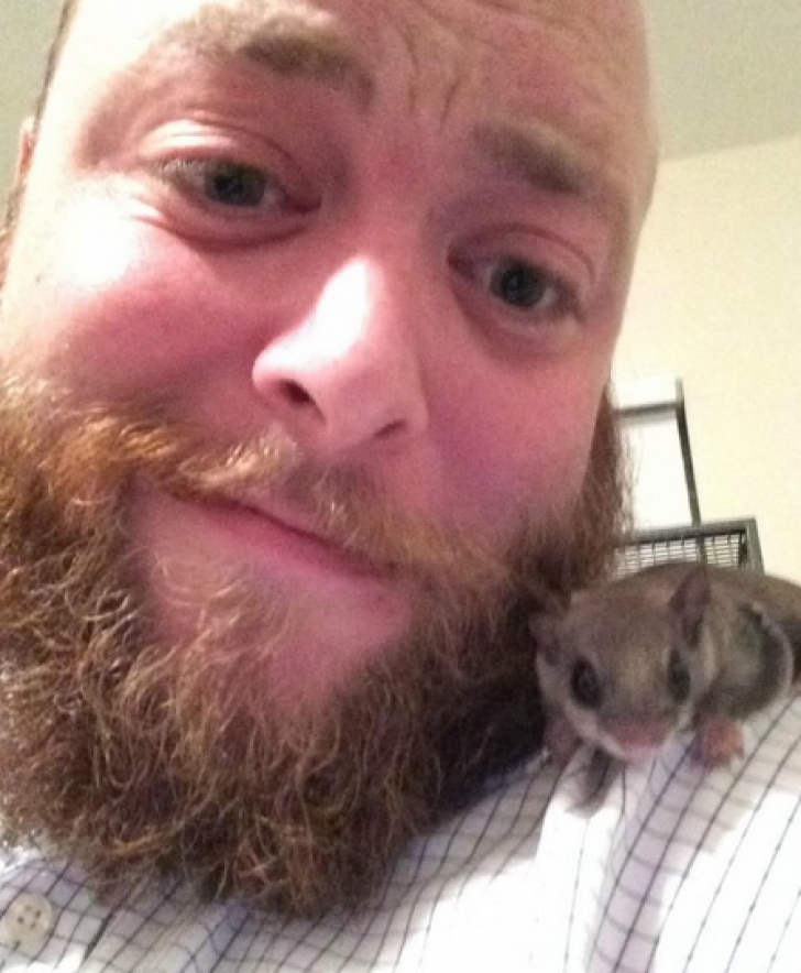 A salvat un puiuţ găsit pe stradă. Când a crescut, bărbatul a avut un şoc! Creatura se transformase