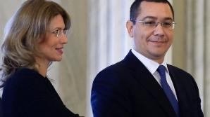 Ponta: Alina, te rog nu îţi da demisia, vrem să câştigăm şi parlamentarele