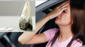Ce se întâmplă dacă pui pliculeţe de ceai sub scaunul de la maşină