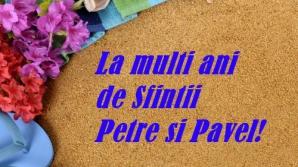 MESAJE SF. PETRU ŞI PAVEL 2016: Cele mai frumoase mesaje de Sfinţii Petru şi Pavel