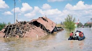 Peste 1.500 de angajați MAI acţionează în zonele afectate de inundaţii