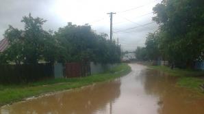 Imagini apocaliptice cu inundaţiile din Moldova
