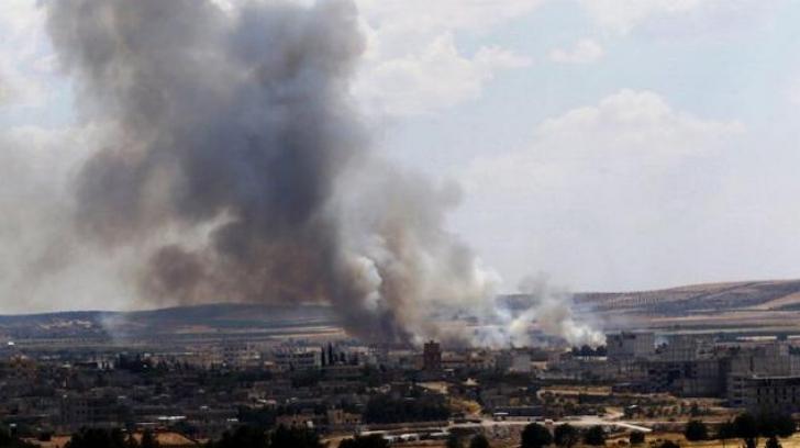 Un avion de luptă sirian s-a prăbuşit la scurt timp după decolarea de pe aeroportul Hama