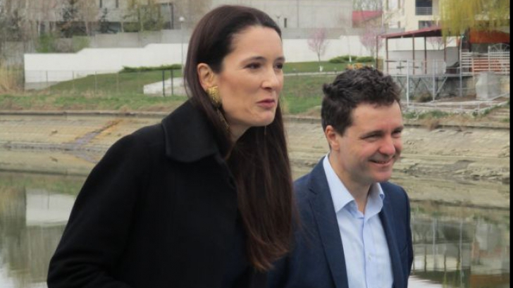 Clotilde Armand si Nicusor Dan