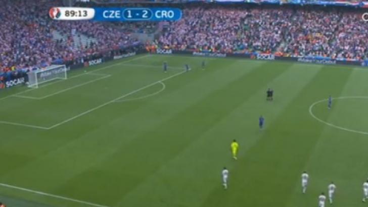 EURO 2016. Cehia - Croaţia 2-2. LIVE SCORE. Thriller pe final, torţe explodate pe teren