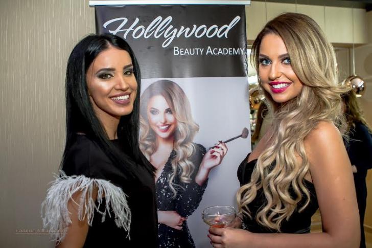 Adelina Pestrițu, apariție de senzație la inaugurarea unei școli de make-up