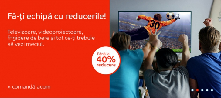 eMAG – Reduceri 40% pentru televizoarele 4K ULTRA HD. Cat au ajuns sa coste cele mai ieftine