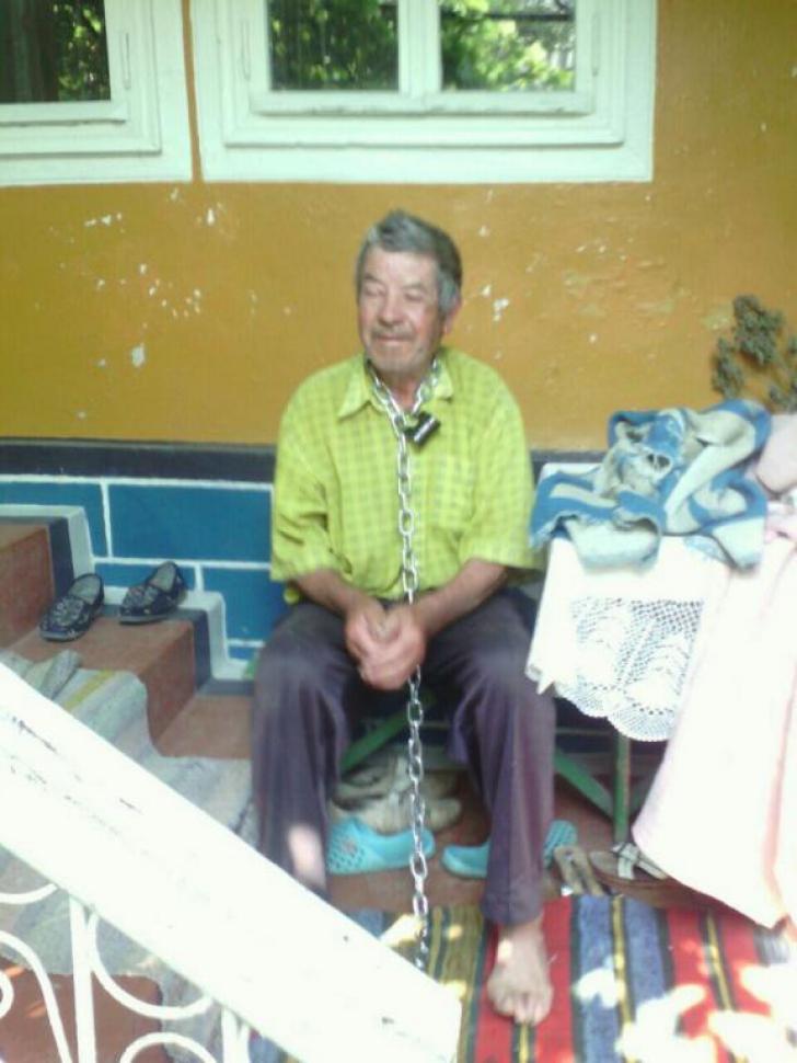 O femeie din Moldova şi-a legat soţul în lanţuri ca să nu mai meargă la băut