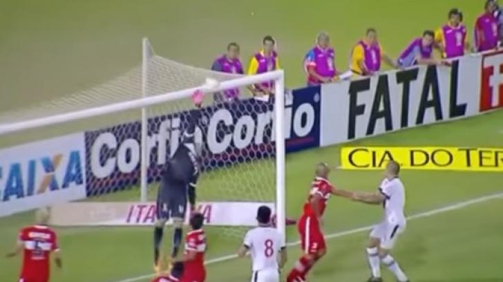Gol spectaculos în Brazilia. O reușită de zile mari. Nici marcatorului nu i-a venit să creadă