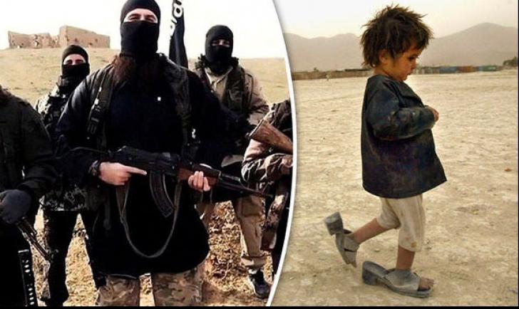 Șocant! Jihadiștii ISIS i-au decapitat fetița de 4 ani sub privirile ei. Apoi a fost obligată să...