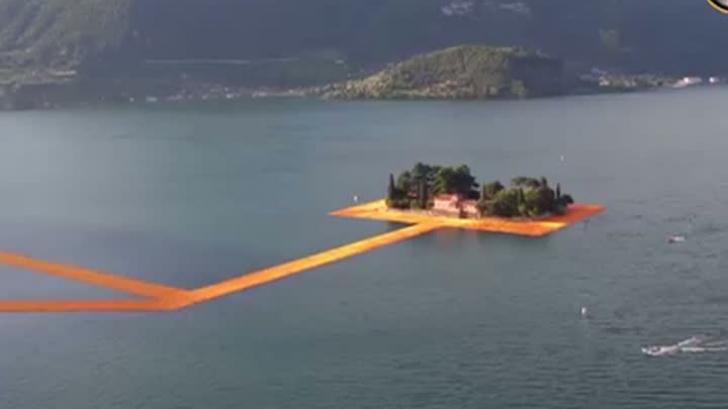 Mersul pe apă a devenit o realitate VIDEO