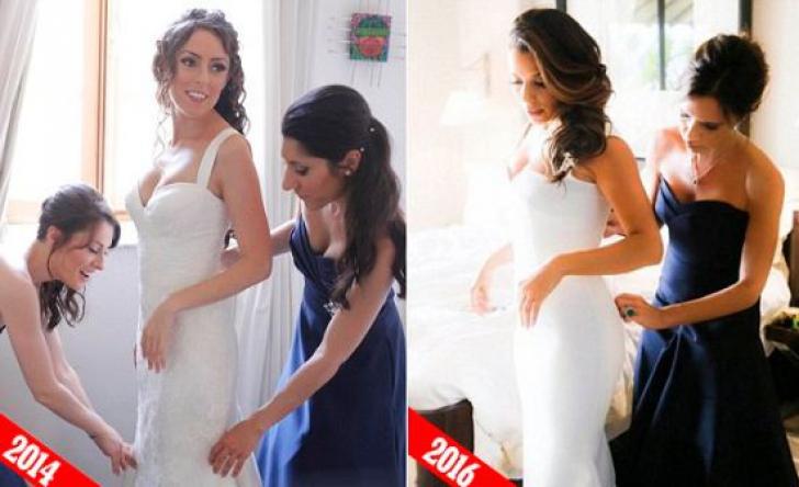 """""""Mi-a furat ideea de nuntă!"""" O femeie a încremenit când a văzut rochia de mireasă a Evei Longoria"""