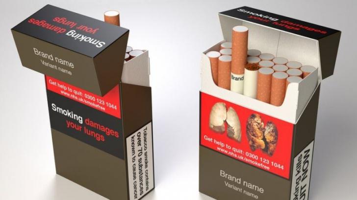<p>Cea mai urâtă culoare din lume va fi imprimată pe pachetele de ţigări. Iată cum vor arată!</p>