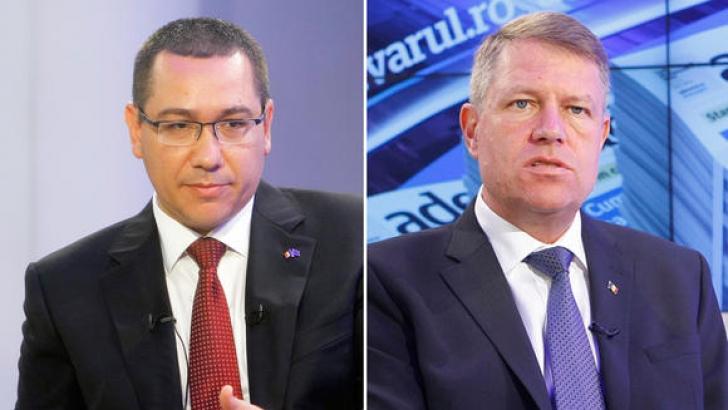 Ponta îi cere demisia lui Iohannis, pe Facebook