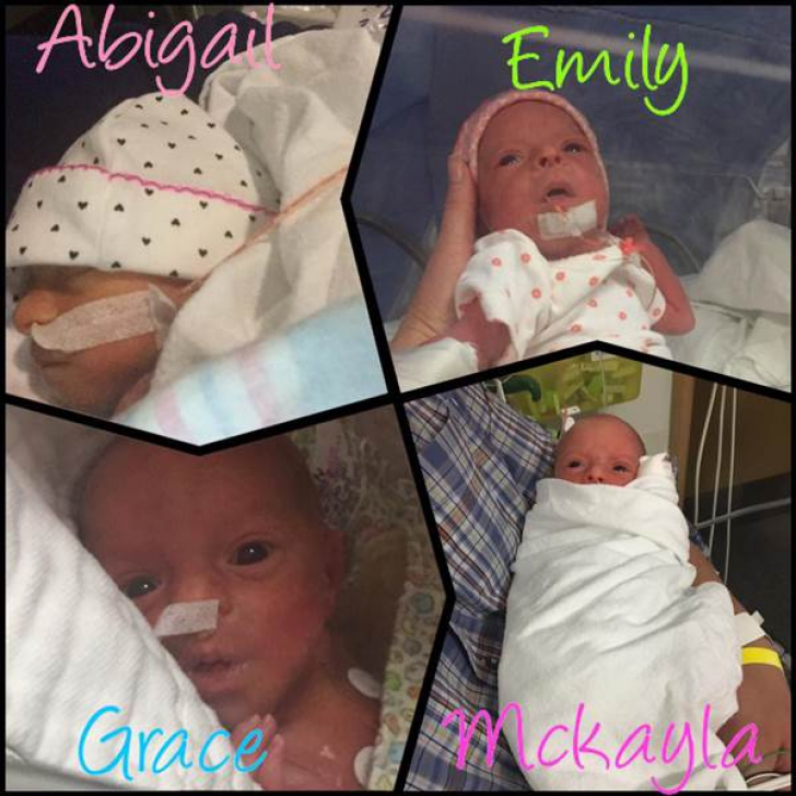 Mama a născut cvadrupleţi. Apoi, medicul s-a uitat la fețele bebelușilor. A înțeles imediat că...