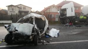 ACCIDENT GRAV la Mioveni. Doi oameni au murit şi alţi 9 sunt răniţi