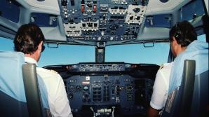 Piloţii unui avion de pasageri, arestaţi în Marea Britanie. Motivul este halucinat
