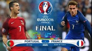 Finala Euro 2016. Securitate maximă la meciul Franţa - Portugalia