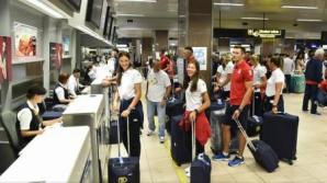 Loturile de canotaj și gimnastică ale României au plecat la Jocurile Olimpice de la Rio de Janeiro
