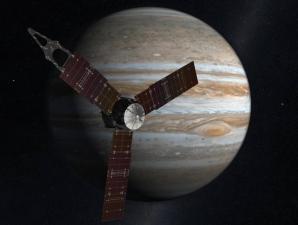 Succes pentru sonda Juno! A intrat pe orbită în jurul lui Jupiter