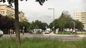 Atentatul din Munchen. Momentul șocant în care atacatorul deschide focul în plină stradă. VIDEO