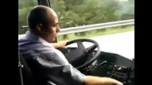 VIDEO şocant. Iată ce face şoferul unui tir român pe o autostradă din Italia