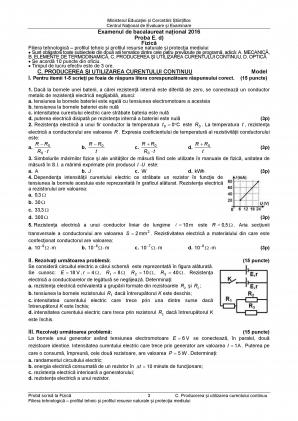 Subiecte FIZICA BAC 2016