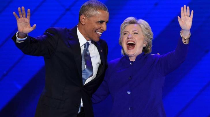 Obama și Biden, discursuri electrizante pentru susținerea lui Hillary Clinton