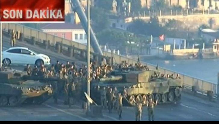Lovitură de stat eșuată în Turcia