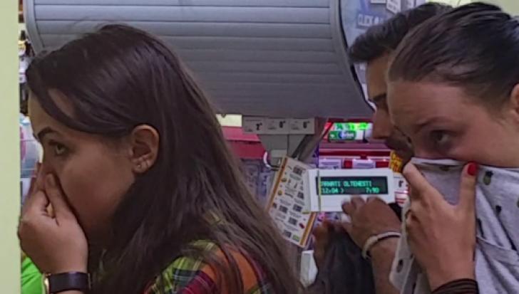 Clienți sechestraţi într-un hipermarket din Constanța