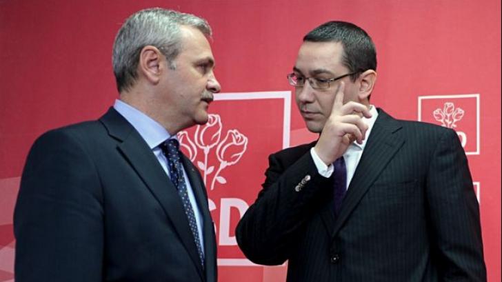 Dragnea şi Ponta