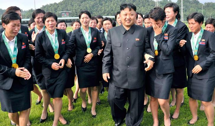 Palatul plăcerilor din Coreea de Nord