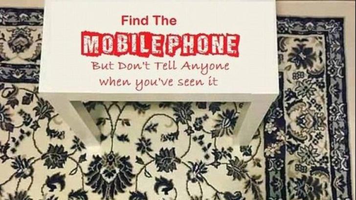 Tu vezi telefonul? Imaginea care a înnebunit Internetul