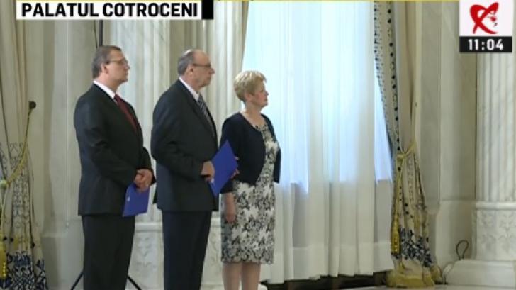 Valer Dorneanu este noul preşedinte al Curţii Constituţionale